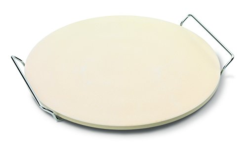 Jamie Oliver Pizza Stone and Serving Rack, White