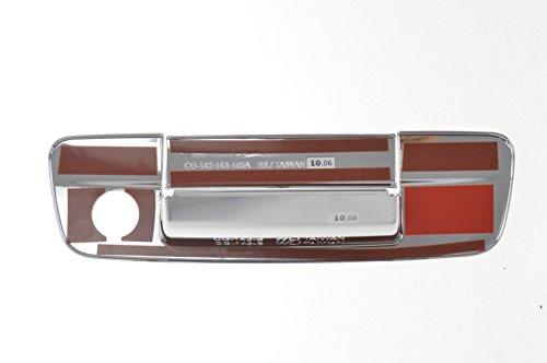 Fits 09-16 DODGE RAM 1500/2500/3500/4500/5500 W/KEYHOLE - Chrome Tailgate Handle Covers