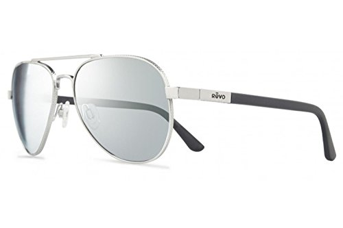 Revo Raconteur Sunglasses, Chrome Frame, Stealth 58mm Lenses, part of the Serilium - Parts Sunglasses Of
