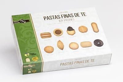 Pastas Finas de Té 450g (Pack de 4 estuches): Amazon.es: Alimentación y bebidas