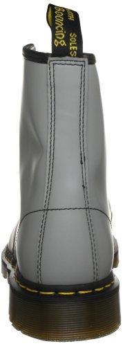 Dr. Martens 1460 Milled Smooth, Stivali Uomo Grigio (Smooth Grey)