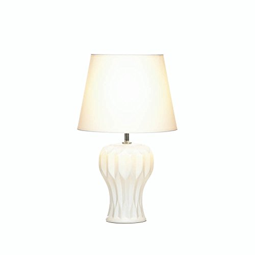 Zings & Thingz 57073511 Curved Table LAMP, White