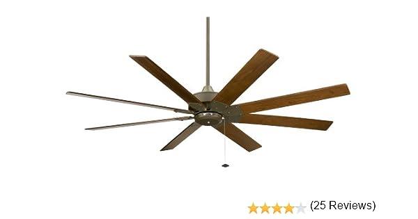 Fanimation FP7910OB ventilador de techo Levon, bronce antiguo, ideal para espacios grandes: Amazon.es: Hogar