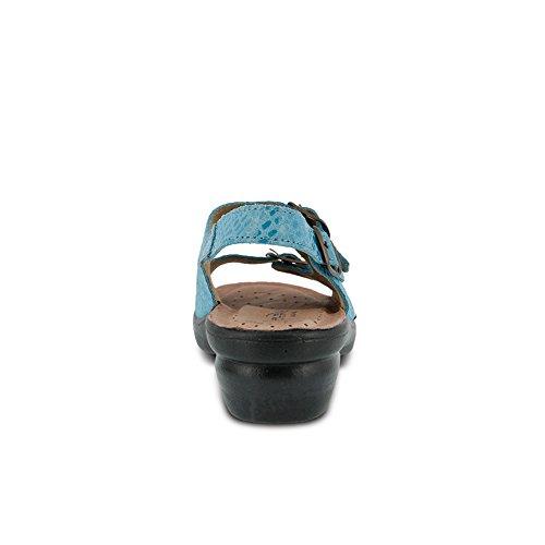 Flexus Dames Adriana Essentials Sandaal Blauw