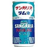 株式会社日本サンガリアベバレッジカンパニー サンガリア ラムネ・S 190g缶 ×30個