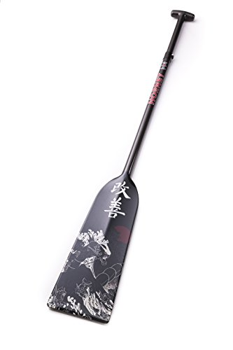 Hornet Watersports Dragon Boat Paddle Adjustable Carbon Fiber Kaizen by Lightweight IDBF Approved by Hornet Watersports