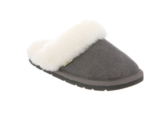 RJs Fuzzies Womens Scuff Slipper Grey HhjgyhSIq