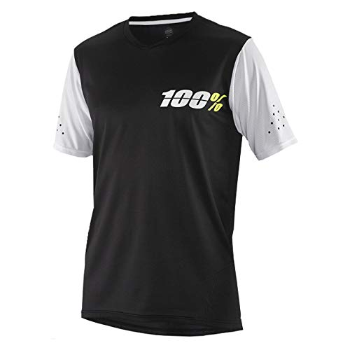 100% Ridecamp Short-Sleeve Jersey - Men's Black, L