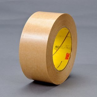 3M 465 Clear Transfer Tape - 2 in Width x 2 mil Thick - Densified Kraft Paper Liner - 04299 [PRICE is per ROLL] by 3M
