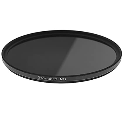 Image of Black & White Contrast Filters Firecrest ND 105mm Neutral density ND 2.1 (7 Stops) Filter for video, broadcast and cinema production
