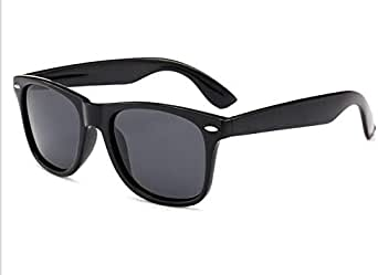 Sunglasses Glossy Rectangular Frame Vintage Retro Mens Womens UV400 [BTX] - 2724711457639