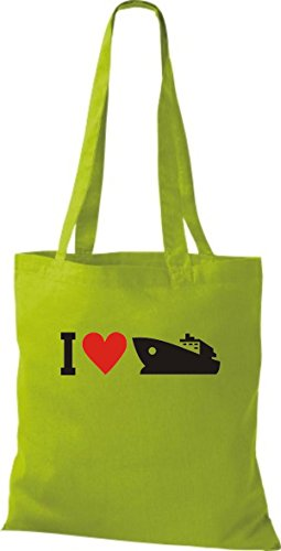 I Shirtstown Bolsa Yate Botas De Capitán Love Yute Skipper Kiwi Tela AqqwpIxPrC