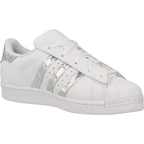 Adidas White Gimnasia C Blanco Superstar ftwr Unisex De White ftwr Niños Zapatillas rzr7SqZw
