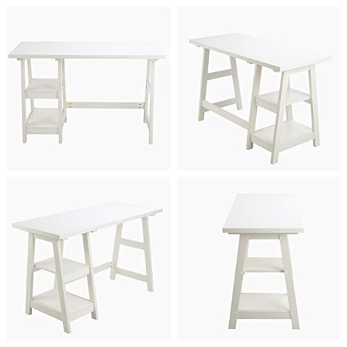 Buy white writing desk with chair