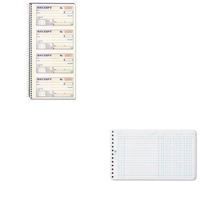 KITABFSC1152WLJ75850 - Value Kit - Wilson Jones Extra Sheets for Six-Ring Ledger Binder (WLJ75850) and CARDINAL BRANDS INC. Two-Part Rent Receipt Book (ABFSC1152) ()