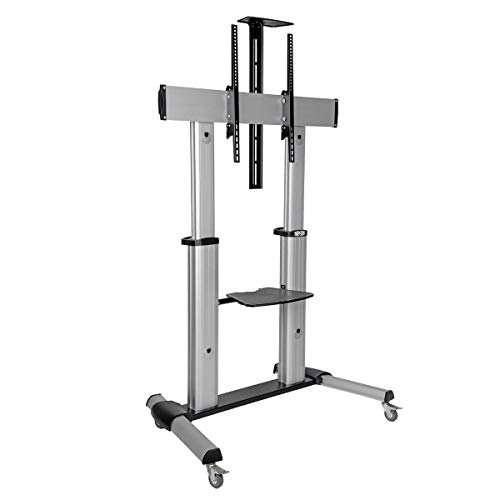 New! Tripp Lite Mobile TV Stand with Mount, for LED/OLED/LCD Flat Screen Monitors, 60