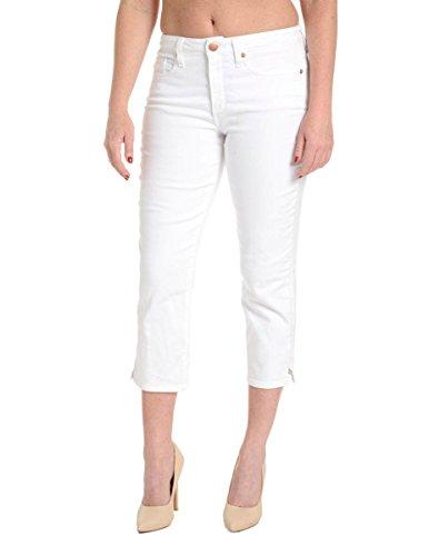 SPANX Slim-X Casual Capri Jeans in White, Style SD2415 (28, White)