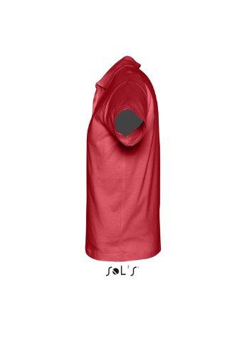 Sols - Prescott men - Herren Poloshirt , Red , S