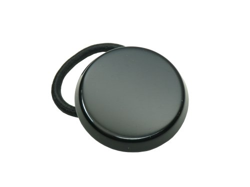- Charles J. Wahba Circle Ponytail Holder - Black