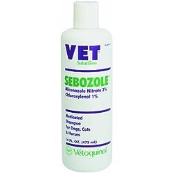 Vetoquinol 411609 Sebozole Shampoo,8 oz