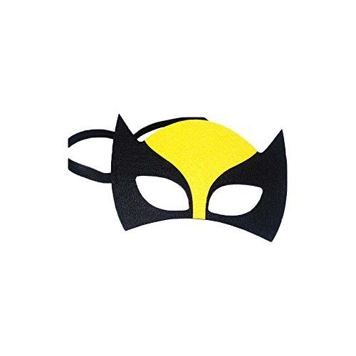 Wolverine X-Men Marvel Comic Cartoon Kids Costume Felt Mask by Superheroes Brand