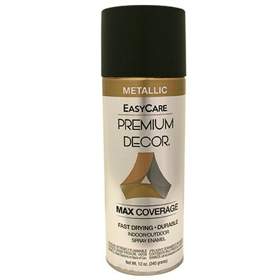 Case of 6 - PDS-89, EasyCare Premium Decor, 12 OZ, Oil Rubbed Bronze Metallic Spray Paint Ename