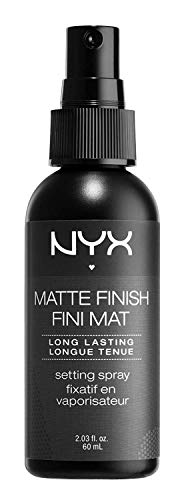 NYX Maquillaje profesional Maquillaje en spray, Acabado mate /Larga duración, 2.03 onzas