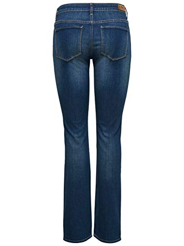 Blue Vaqueros 28 Harper Medium Mujer Only Denim Denim Regular Jeans 30 TaRPAzBqP