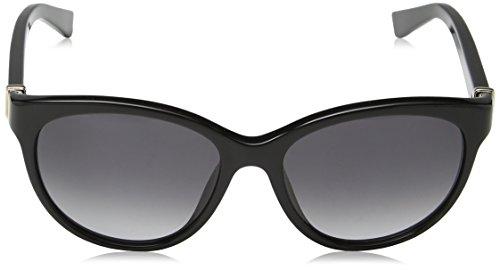 Nina Ricci, Lunettes de Soleil Femme Grey (Shiny Black)