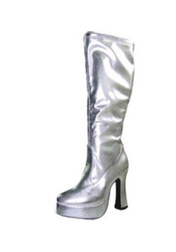 Seventies Retro Stiefel silber - silber RwKvzhMpt