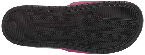 Nike Women's Benassi Just Do It Sandal, True Berry/Burgundy ash, 7 Regular US by Nike (Image #3)