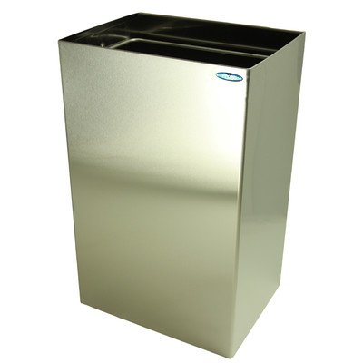 Frost 326 Waste Receptacle, Metallic (Wall Mounted Garbage Can compare prices)