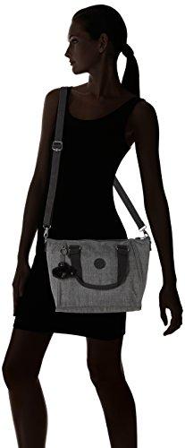 KiplingAmiel - Bolso de mano Mujer Gris (Cotton Grey)