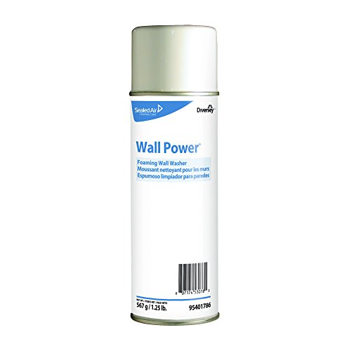Price comparison product image Diversey 95401786 Wall Power Foaming Wall Washer,  20 oz Can (Case of 12)