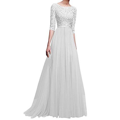 75c0901bc Vestidos Largo Mujer de Novia POLP Elegantes Tallas Grandes Vestidos ...
