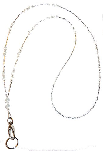 - Hidden Hollow Beads, Simple Black, Women's Fashion Beaded Lanyard Necklace, 34