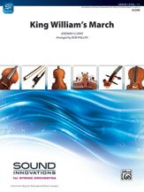 Download Alfred King William's March - Score ebook
