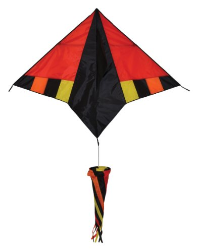 (In the Breeze Hot Wind Delta Kite with Spinsock)