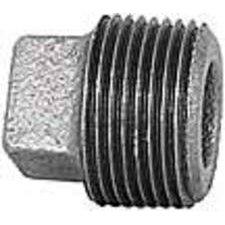Black Iron Square Head Plug (Imperial 98082 Black Iron Square Plug, 3/8