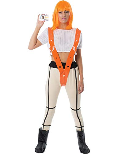 Leeloo Fifth Element Adult Costume - Large Orange -