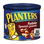 Planters Spanish Peanuts Redskin 12.5 OZ (Pack of 24)