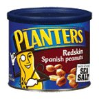 Planters Spanish Peanuts Redskin 12.5 OZ (Pack of 24) by Planters