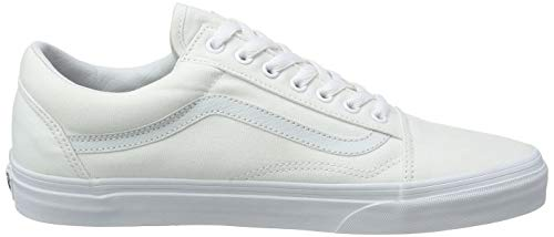 Skool Baskets true White Basses Vans Blanc Adulte Old U Mixte Eq6waPgTn