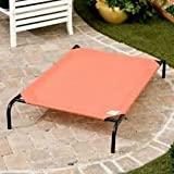 Coolaroo Deluxe Dog Bed - Terra Cotta - Large