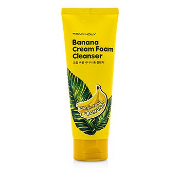 TONYMOLY-Magic-Food-Banana-Cream-Foam-Cleanser-150-Gram