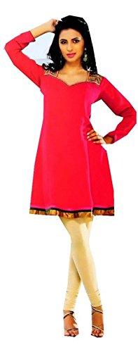 Jayayamala erstaunlich elegante Tunika mit schönem Design und Langarm-