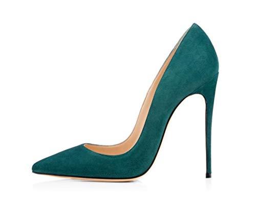 Heel Bankett Urlaub Stiletto Einzelne Hochzeit Samt Spitzen Damen Super Wildleder Shiney High Schuhe Heels YPxHIzfqHw