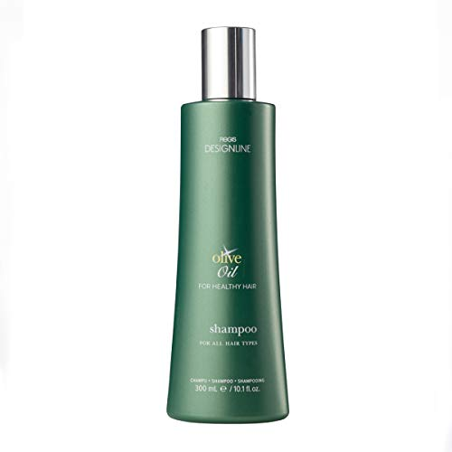 Olive Oil Shampoo - Regis DESIGNLINE - Fortified with Olive Oil and Rich in Vitamins E and K to Help Protect Hair from Environmental Damage (10.1 oz)