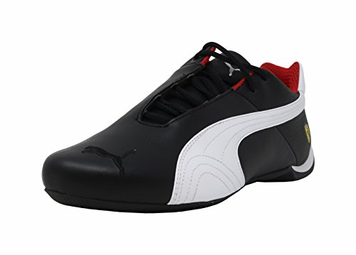 - PUMA Men's Ferrari Future Cat OG Sneaker,puma black-puma white-puma black,10 M US