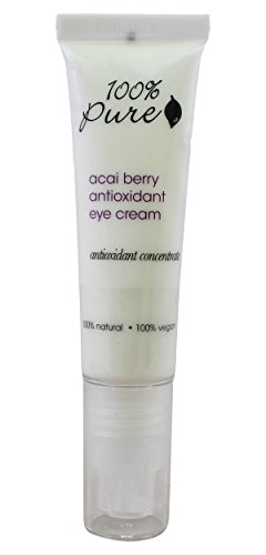 Organic Acai Eye Cream by 100% Pure 1 oz